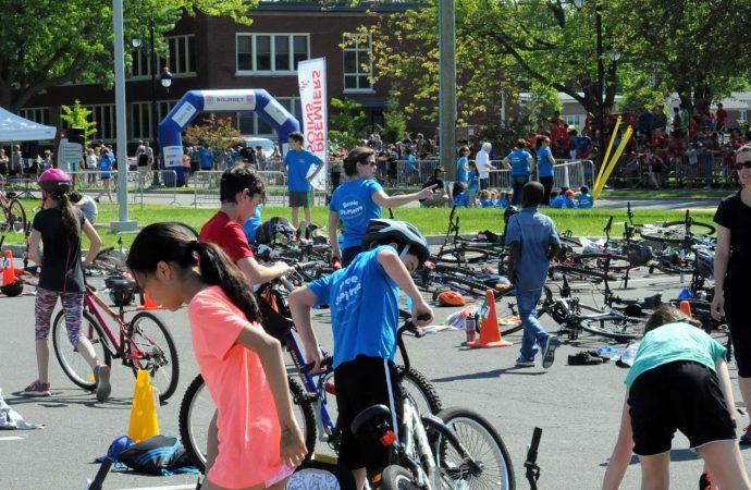 600 élèves participent au Triathlon scolaire