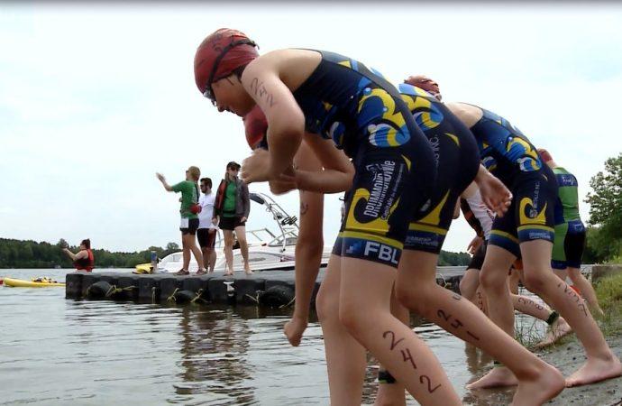 Le 27e Triathlon de Drummondville en vidéo