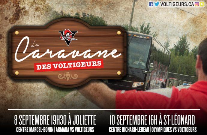 La Caravane des Voltigeurs se déplacera à Joliette et Saint-Léonard