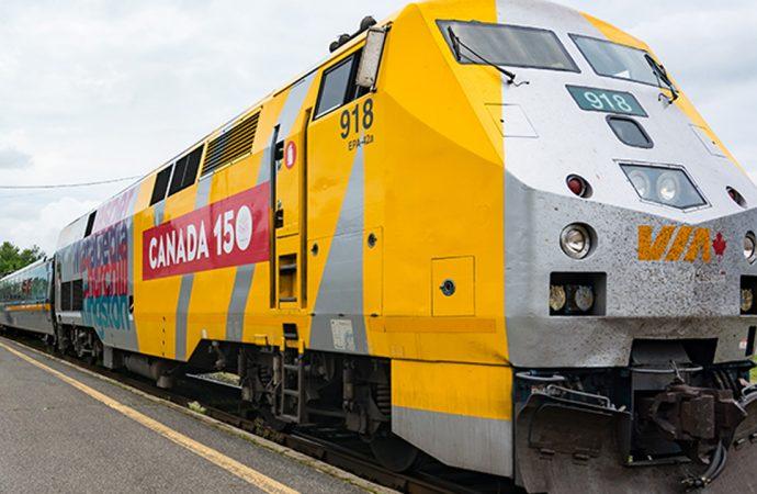 Nord ou sud, Drummondville souhaite que Québec et Ottawa financent le TGF de Via Rail