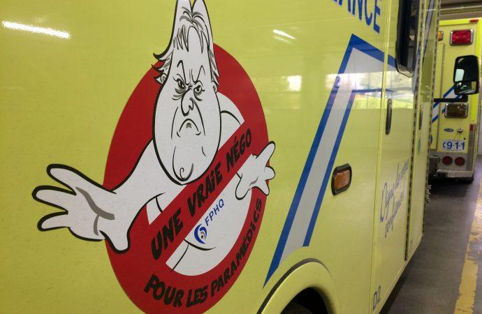 Les ambulanciers veulent mettre un terme aux horaires de faction