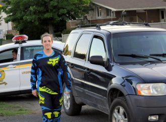 Fuyard arrêté grâce à une Drummondvilloise
