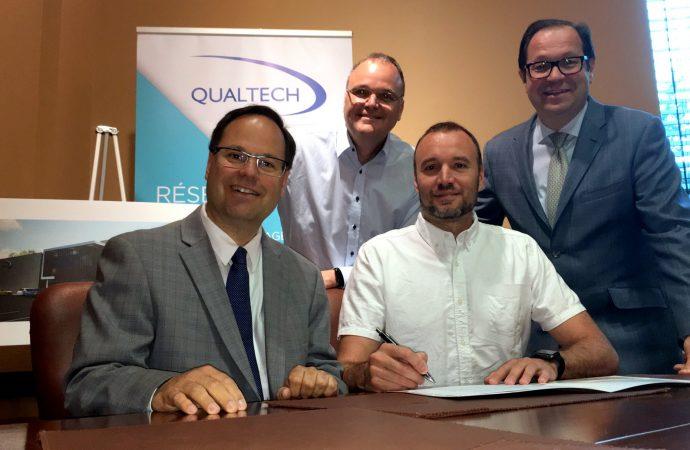 Qualtech déménage sa production à Drummondville, créera 45 emplois