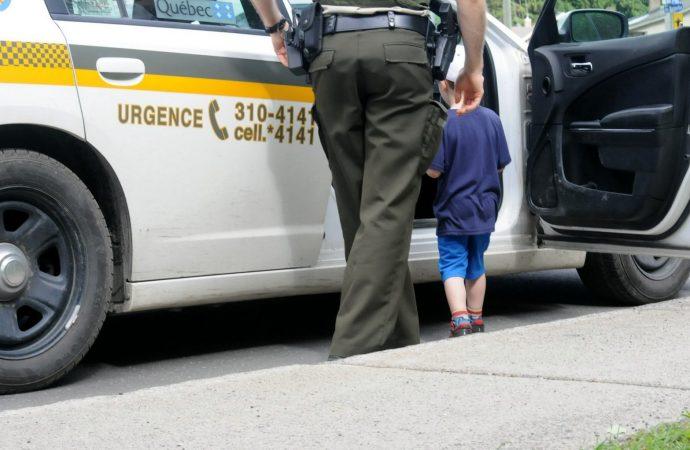 Enfant de 4 ans perdu dans Drummondville