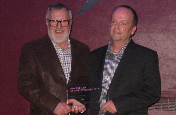 La MRC de Drummond remporte le prix Culture et développement