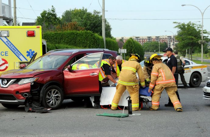 Accident mineur à Drummondville