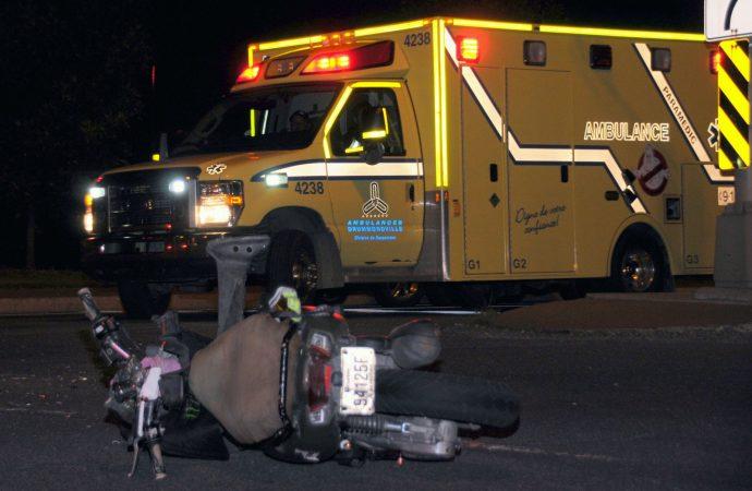 Deux accidents de mobylettes en quelques heures