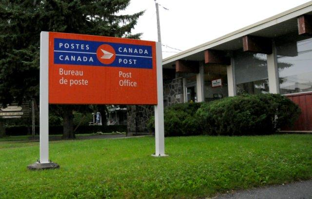 Le service postal déménagé temporairement à Saint-Cyrille-de-Wendover