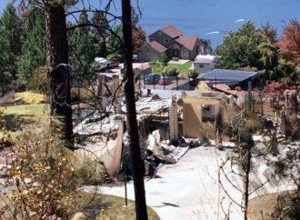 La famille d'une Drummondvilloise évacuée à cause des feux de forêt