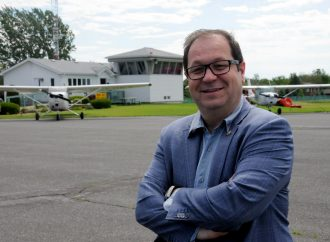 Lancement des travaux de prolongement de la piste de l'Aéroport de Drummondville