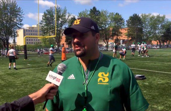 Entrevue avec l'entraîneur du Vert et Or -En vidéo