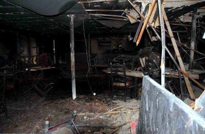 Cocktail Molotov dans une pizzeria de Drummondville
