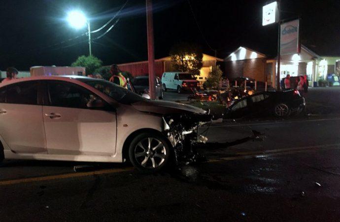 Violente collision frontale à Drummondville
