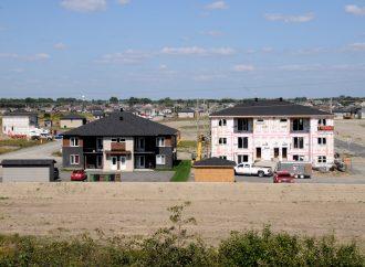 La construction résidentielle toujours en progression à Drummondville