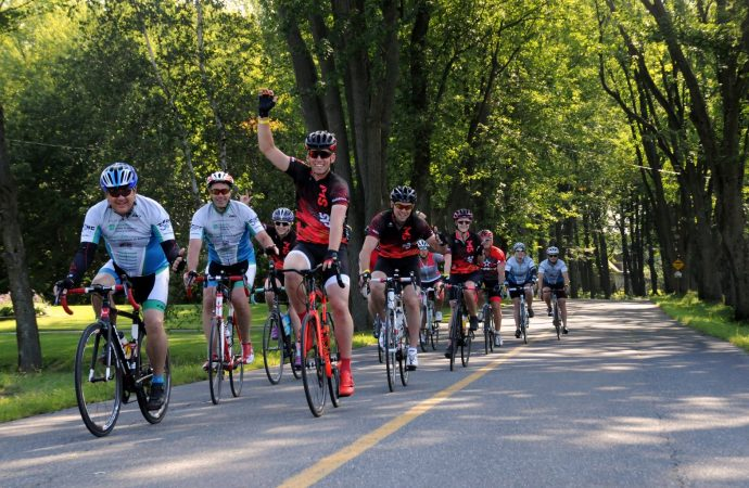 Le 28e Vélotour SP Croix Bleue Medavie permet de remettre 1,1 M$ pour la sclérose en plaques