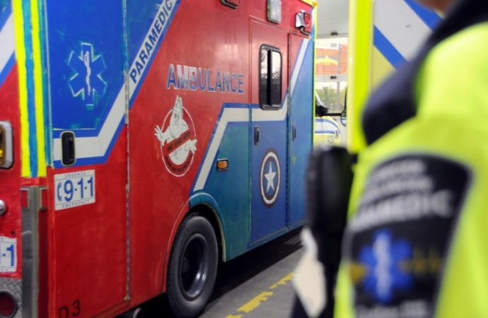 Des ambulances décorées
