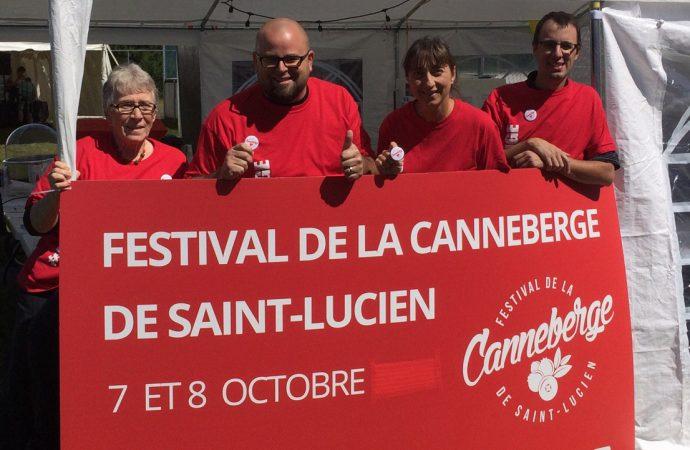 Saint-Lucien prêt pour le 2e Festival de la canneberge
