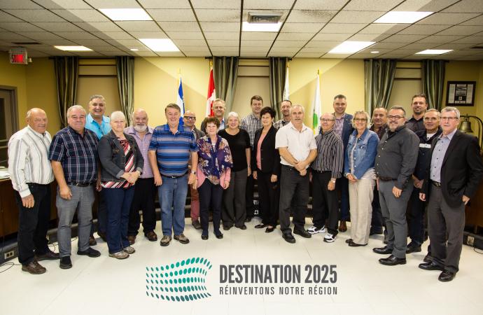 Destination 2025 pour la MRC d'Arthabaska: Un projet pour ma région