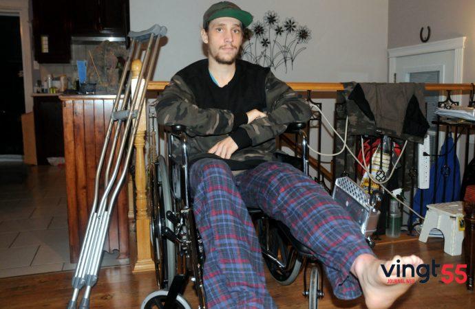 Guillaume Bergeron: «Je reviens plus fort, suite au terrible accident du 4 octobre»