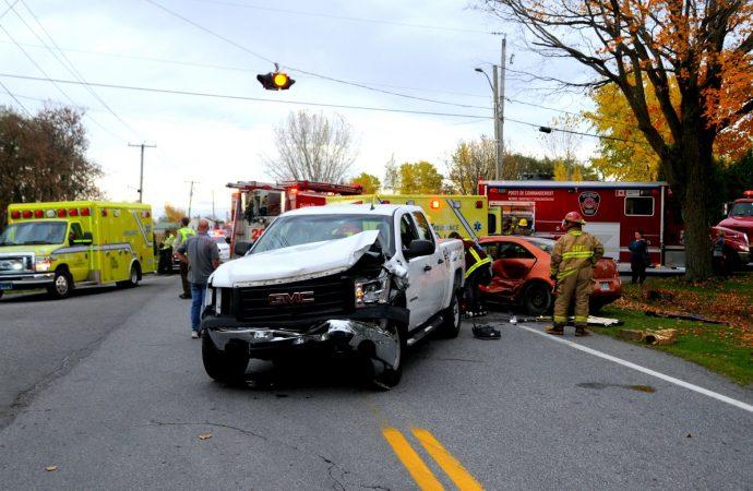 Trois personnes sont blessées dans un accident à Saint-Nazaire