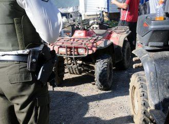 Un accident de VTT à Drummondville mène à une arrestation
