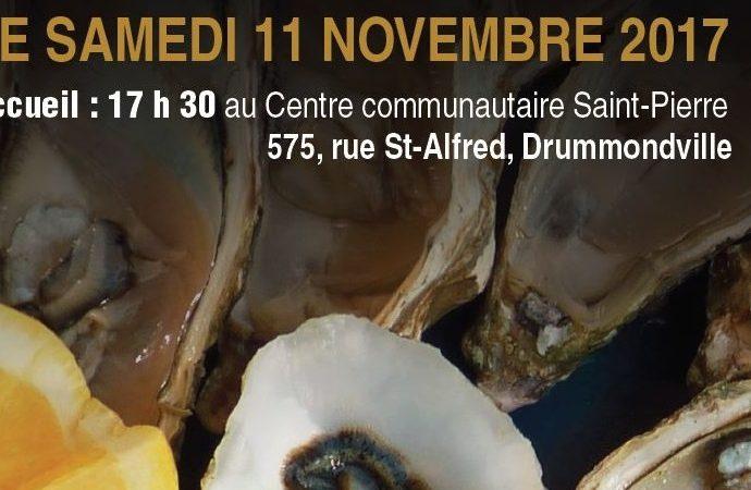 Souper-bénéfice : «Huîtres et côte de boeuf»au profit du Centre communautaire Saint-Pierre
