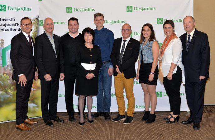 Centre-du-Québec: Desjardins investira plus de 1 M$  pour soutenir six projets porteurs