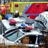 Wickham – Sortie de route de 2 véhicules de la SQ et un véhicule civil fait 3 blessés