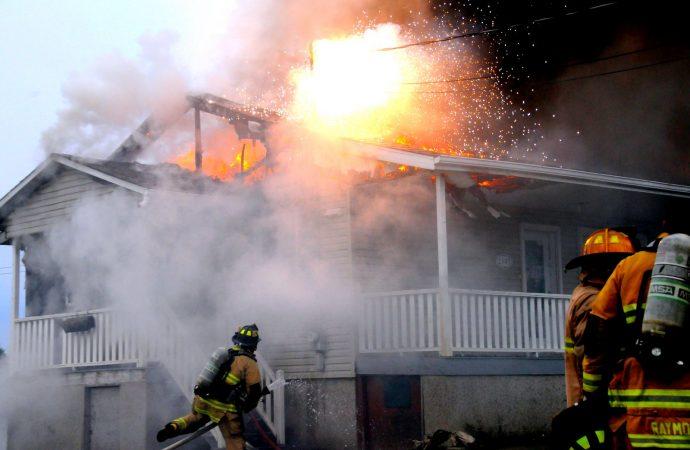 Un incendie sur le chemin Tourville endommage un bungalow