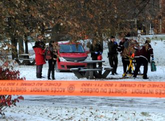 Parc de la Paix à Drummondville: Une dame retrouvée ensanglantée