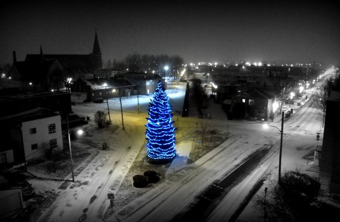 Unique au quartier Saint-Joseph – Venez vivre la féerie de Noël!
