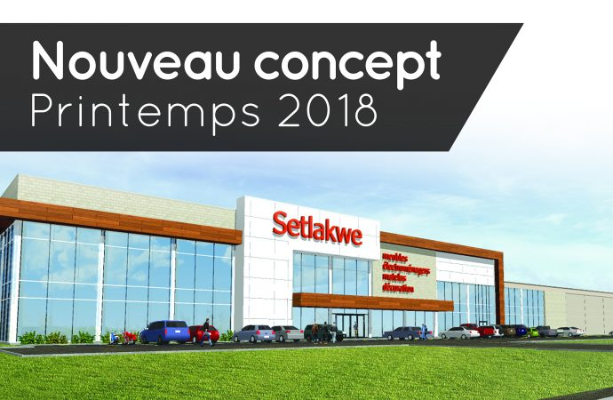 Setlakwe, fait un investissement majeur pour un nouveau concept magasin et crée 25 emplois