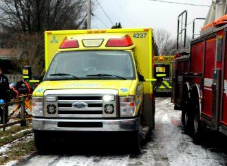 Incendie de la rue Messier à Saint-Lucien: l'octogénaire succombe à ses blessures