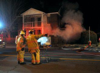 Fin de soirée vendredi: Incendie suspect sur St-Pierre à Drummondville