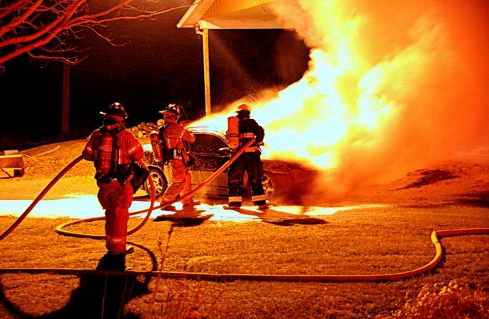 Incendie dans le 7e Rang à Wickham cette nuit