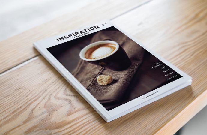 Inspiration magazine, le bonheur du cocooning, barbe taillée, épilation, cheveux, penderie, cuisine et café