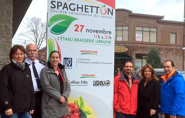 Société canadienne du cancer: Le 27e Spaghetton élira domicile à l'Établie Brasserie Urbaine