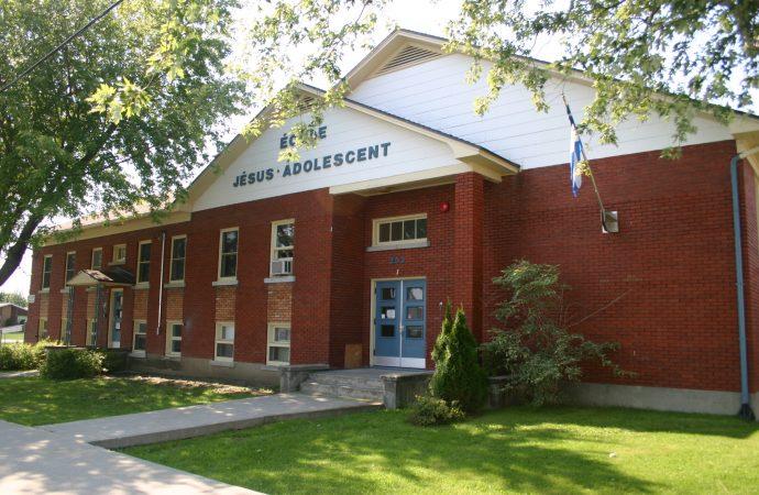 École Jésus-Adolescent – Début du programme dès septembre 2018 pour l'école alternative