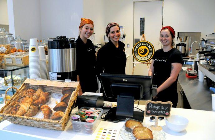 (VIDÉO) Le Café Morgane de la nouvelle Bibliothèque publique de Drummondville ouvre ses portes