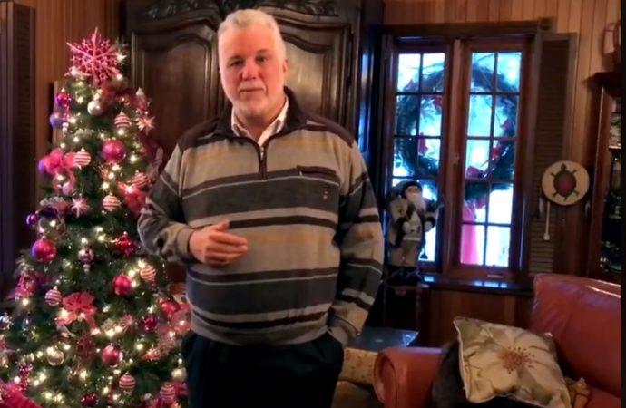 Voici la déclaration du premier ministre du Québec à l'occasion de Noël
