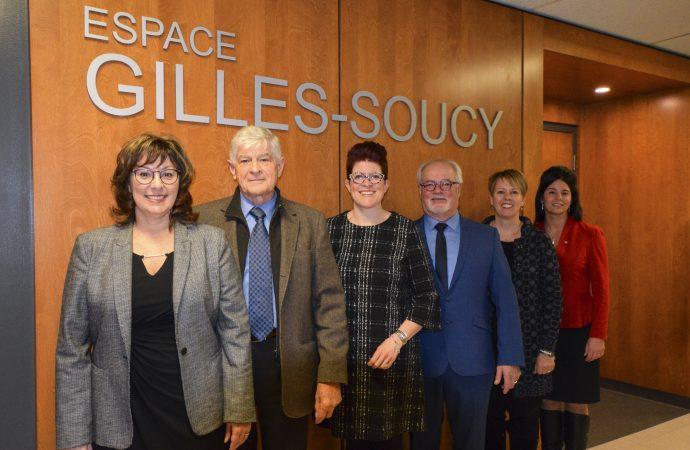 Le Cégep de Drummondville inaugure l'Espace Gilles-Soucy