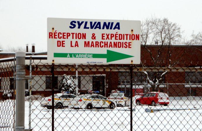 Introduction et tentative de vol à l'usine Sylvania de Drummondville