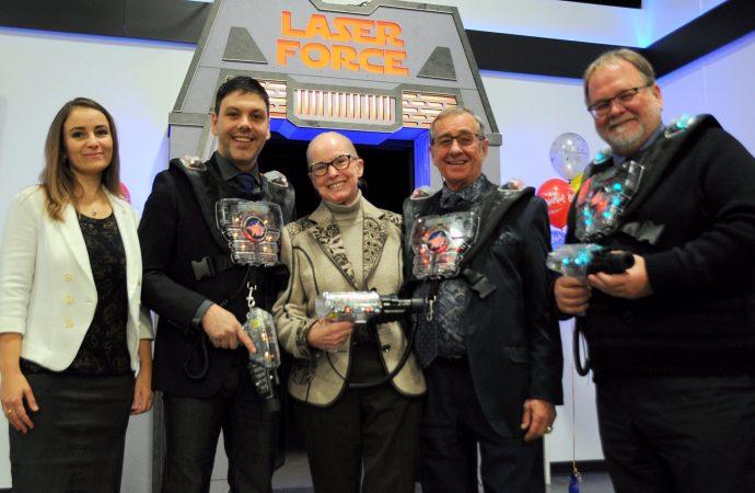 Laserforce ouvre officiellement ses portes