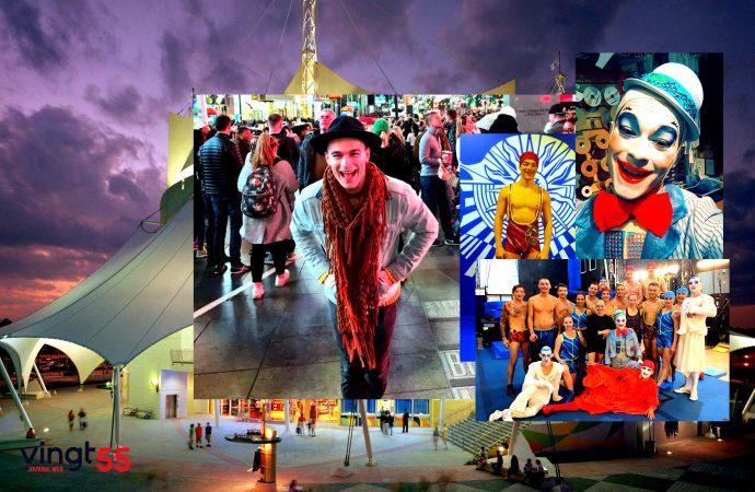(VIDÉO) Ce Drummondvillois qui se distingue au Cirque du Soleil – Vincent Lavoie se raconte au Vingt55