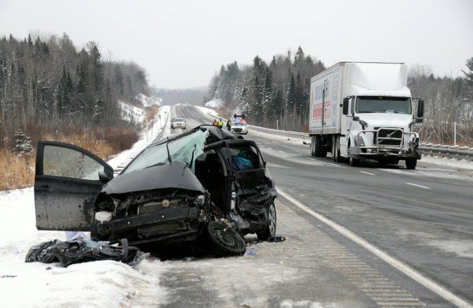 Ulverton: Un homme de 41 ans décède dans une collision sur l'autoroute 55