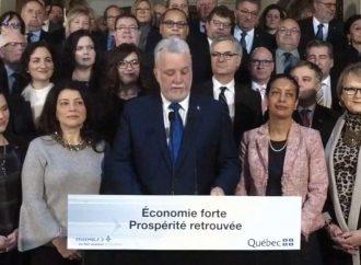 «Nous jetons les bases d'un nouveau Québec» – Philippe Couillard, premier ministre du Québec