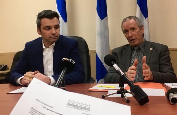 «Un gouvernement marqué par l'usure et l'improvisation» – André Lamontagne et Sébastien Schneeberger