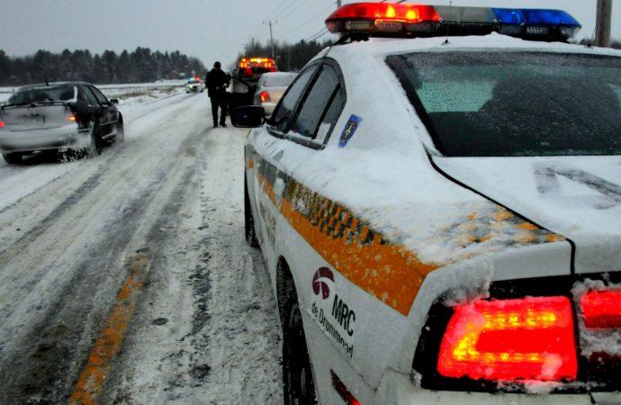 Conditions routières pénibles – Prudence sur nos routes du Centre-de-Québec