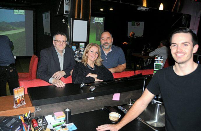 Du golf à l'année à Drummondville au café bistro Le Virtuel