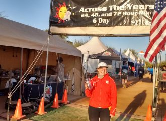 Ultramarathon – Across the year en Arizona:  Le couple Gouin-Morin en action